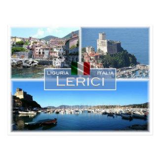 IT Italy - Liguria - Lerici - Postcard