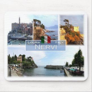 IT Italy - Liguria - Nervi - Mouse Pad