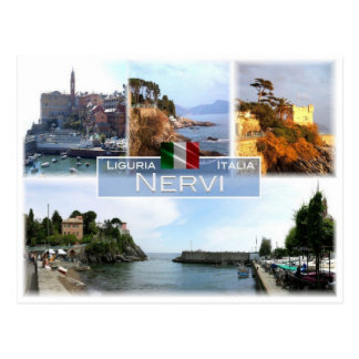 IT Italy - Liguria - Nervi - Postcard
