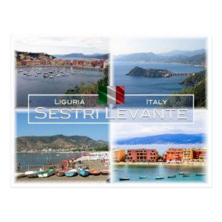 IT Italy - Liguria - Sestri Levante - Postcard