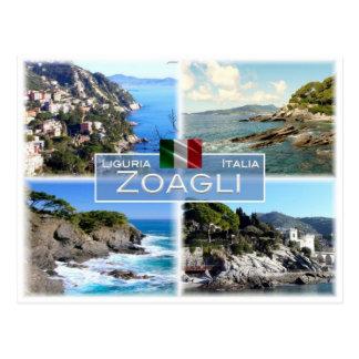 IT Italy - Liguria - Zoagli - Postcard