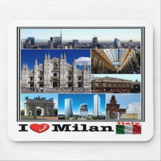IT Italy - Lombardy - Milan - Mouse Pad