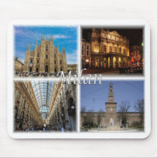 IT Italy - Milan - Mouse Pad