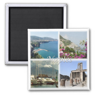 IT * Italy - Naples Sorrento Pompei Amalfi Italy Magnet