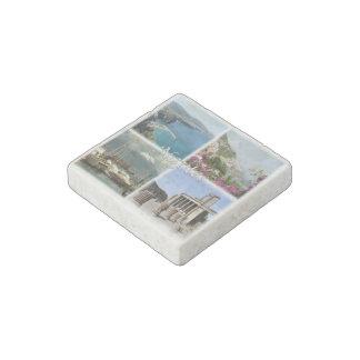 IT Italy - Naples - Sorrento - Pompeii Amalfi - Stone Magnet