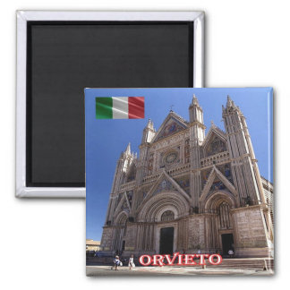 IT - Italy - Orvieto - Cathedral Magnet