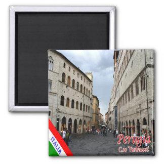IT - Italy - Perugia - Corso Vannucci Magnet