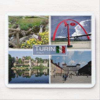IT Italy - Piedmont - Turin - Torino - Mouse Pad