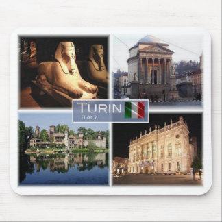 IT Italy - Piedmont - Turin Torino - Mouse Pad