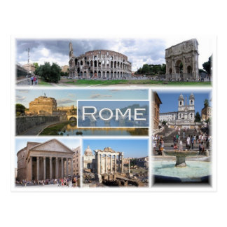 IT Italy - Rome - Postcard