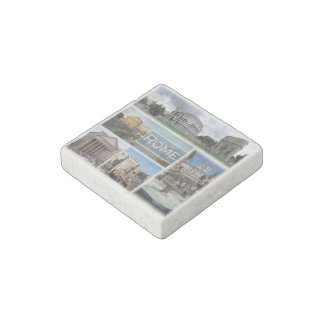 IT  Italy - Rome - The Colosseum - Stone Magnet