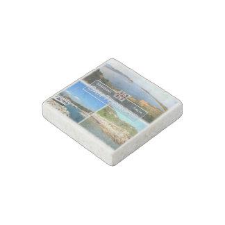 IT Italy - Sardegna - San Teodoro - Capo Coda Cava Stone Magnet