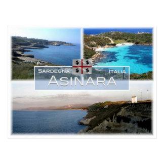 IT Italy - Sardinia - Asinara - Postcard
