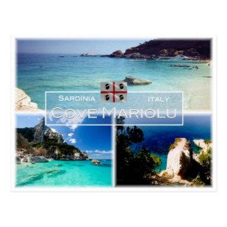 IT Italy - Sardinia - Baulei - Cove Mariolu - Postcard