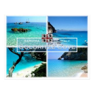 IT Italy - Sardinia - Baunei - Coloritzé Cove - Postcard