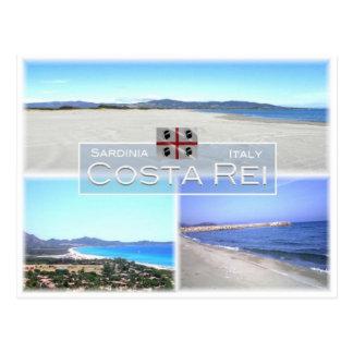 IT Italy - Sardinia - Costa Rei - Postcard
