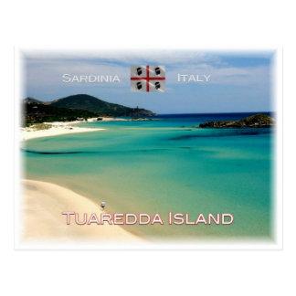 IT Italy - Sardinia - Isola Tuaredda - Postcard