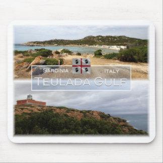 IT Italy - Sardinia - Teulada Gulf - Mouse Pad