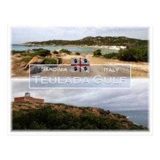 IT Italy - Sardinia - Teulada Gulf - Postcard