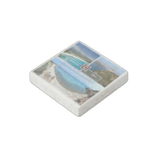 IT Italy - Sardinia - Villasimius - Porto Giunco - Stone Magnet