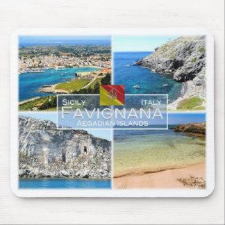 IT Italy - Sicily - Favignana - Mouse Pad