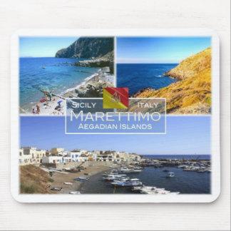 IT Italy - Sicily - Marettimo Island - Mouse Pad