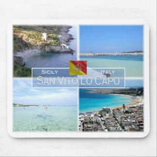 IT Italy - Sicily - San Vito Lo Capo - Mouse Pad