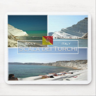 IT Italy - Sicily - Scala dei Turchi - Mouse Pad
