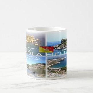 IT Italy - Sicily - Taormina - Isola Bella - Coffee Mug