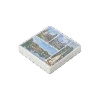 IT Italy - Torino - Castello del Valentino - Stone Magnet