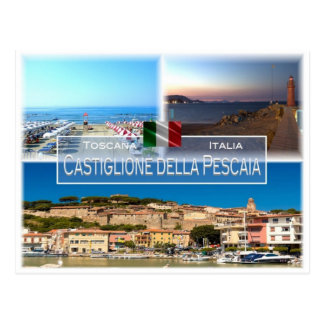 IT Italy - Toscana - Castiglione della Pescaia - Postcard