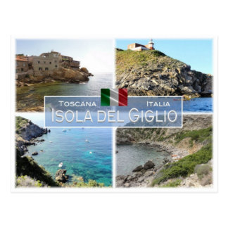 IT Italy - Toscana - Isola del Giglio - Postcard