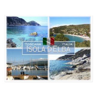 IT Italy - Toscana - Isola D'Elba - Postcard