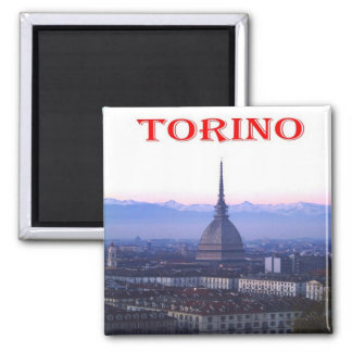 IT - Italy - Turin - The Mole Antonelliana Square Magnet