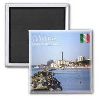 IT Italy # Tuscany - Follonica - Levante Beach Magnet