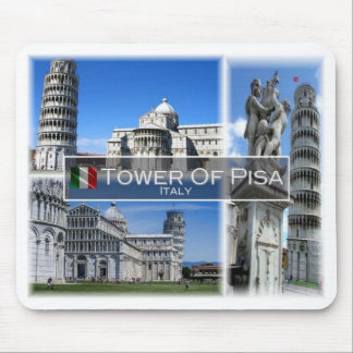 IT Italy - Tuscany -  Pisa - The Leaning Tower - Mouse Pad