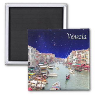 IT - Italy - Venice - Grand Canal Square Magnet