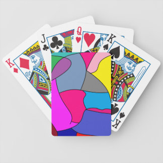 it looks crazy wen the opponents see this. bicycle playing cards