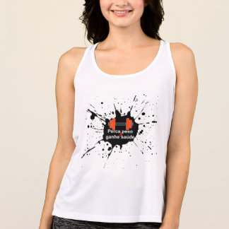 It loses weight and it gains health singlet