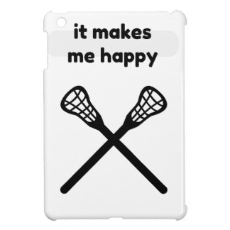 It Makes Makes Me Happy-Lacrosse Case For The iPad Mini
