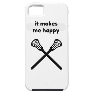 It Makes Makes Me Happy-Lacrosse Case For The iPhone 5