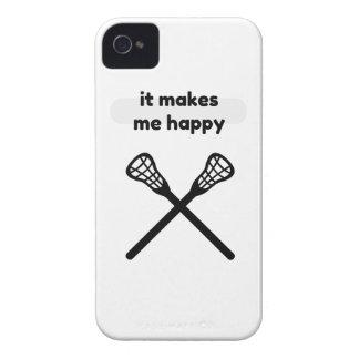It Makes Makes Me Happy-Lacrosse Case-Mate iPhone 4 Case
