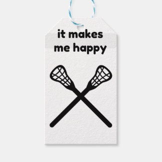 It Makes Makes Me Happy-Lacrosse Gift Tags