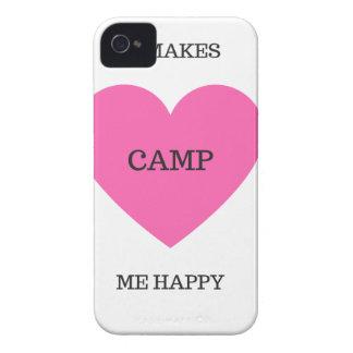 It Makes Me Happy- Camp iPhone 4 Case-Mate Case