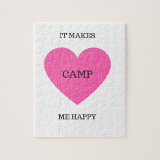 It Makes Me Happy- Camp Jigsaw Puzzle