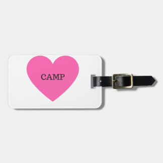 It Makes Me Happy- Camp Luggage Tag