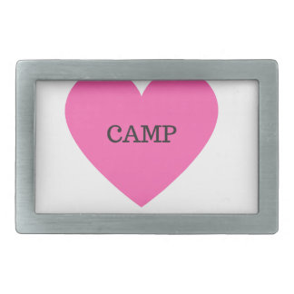 It Makes Me Happy- Camp Rectangular Belt Buckle