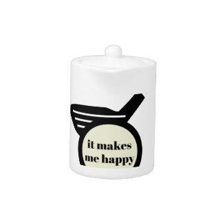 It Makes Me Happy-Golf Mug
