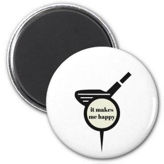 It Makes Me Happy-Golf Mug Magnet
