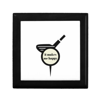 It Makes Me Happy-Golf Mug Small Square Gift Box